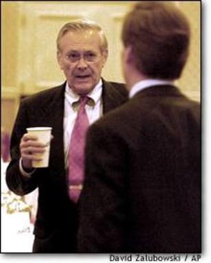 Image: Nicholas Burns Donald Rumsfeld