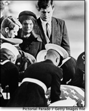 Image: JFK Funeral At Arlington Cemetery