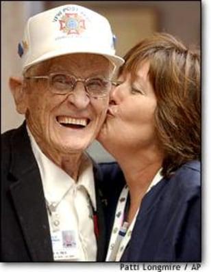 Image: Centenarian Veteran