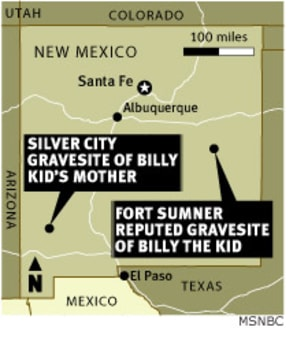 Billy the Kid's DNA sparks legal showdown - Technology