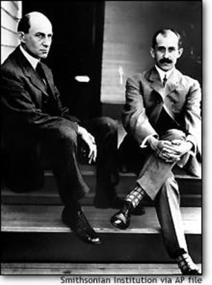 Image: The Wright brothers
