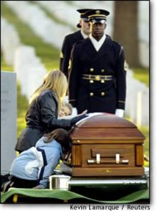Image: Funeral Of Sgt. First Class Gary L. Collins At Arlington National Cemetery