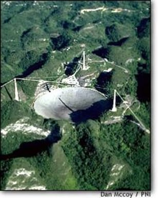 Image: Arecibo from the air