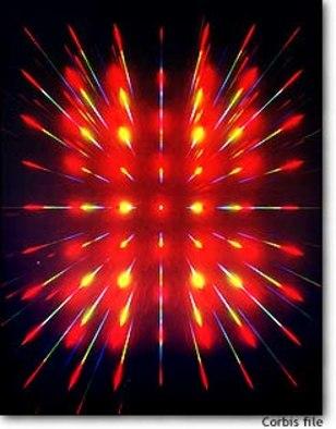Image: Laser grid