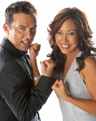 Image: Bruno Tonioli, Carrie Ann Inaba