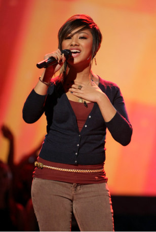 Image: Ramiele Malubay, American Idol contestant
