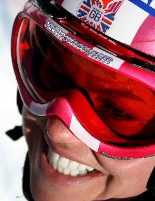 Image: British skier Chemmy Alcott