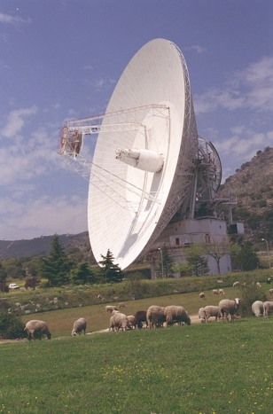Image: DSS-63 antenna