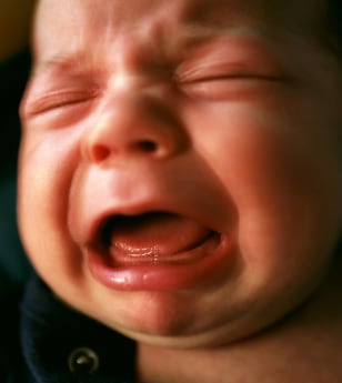 Image: Crying baby