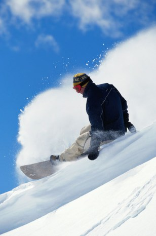 Image: Snowboarder