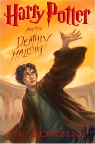 Image: Harry Potter book cover