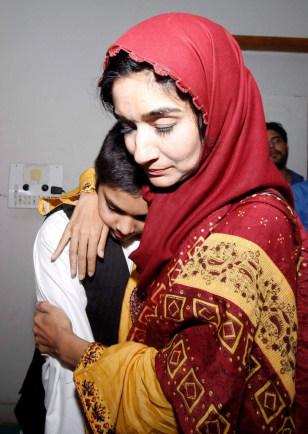 Image: Fauzia Siddiqui and nephew Ali Hassan