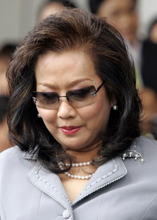 Image: Wife of ousted Thai Prime Minister Thaksin Shinawatra