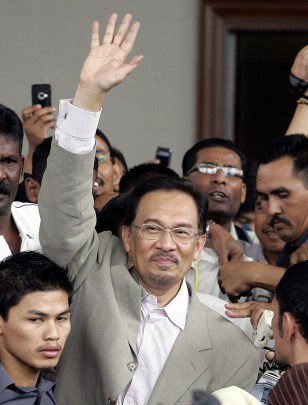 Image: Malaysian opposition leader Anwar Ibrahim