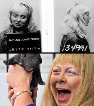 Image: (top) Joyce McKinney, (Bottom) Bernann McKinney