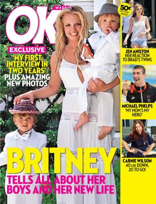Image: Britney on OK! magazine