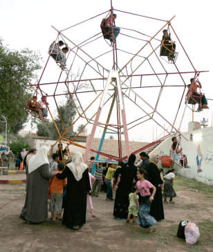 Image: Iraq Ferris wheel