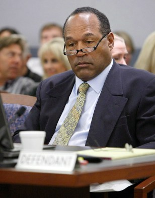 Image: O.J. Simpson in court