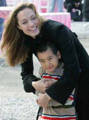 Image: Angelina Jolie and Maddox Jolie Pitt