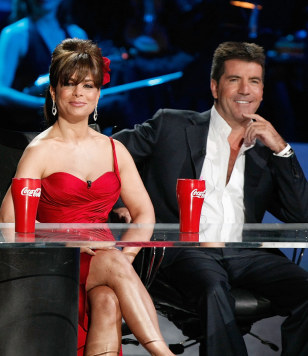 Image: Paula Abdul and Simon Cowell