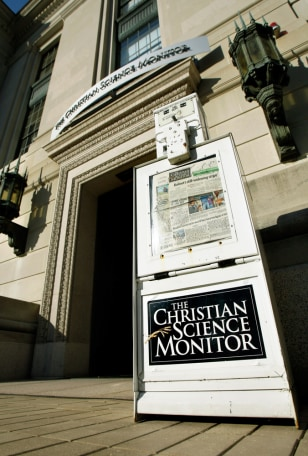 Image: The Christian Science Monitor