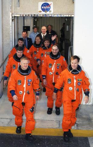 Image: STS-126 crew