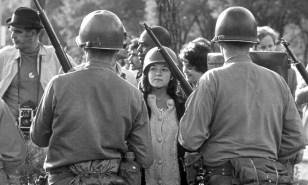 Image: Vietnam War protester