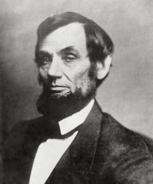 Image: The 16th President President Abraham Lincoln.