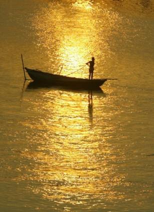 Image: River Ganges in Varanasi, India
