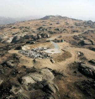 IMAGE: SCORCHED LANDSCAPE