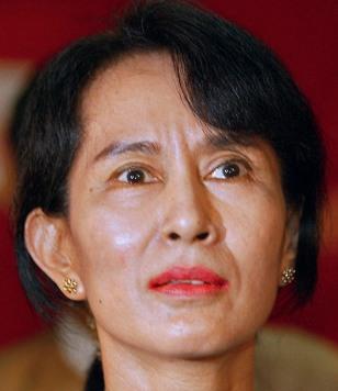 Image: Myanmar leader Aung San Suu Kyi