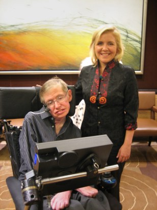 Image: Stephen and Lucy Hawking