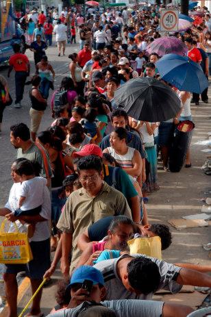 Image: Mexico refugees