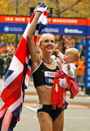 Image: Paula Radcliffe