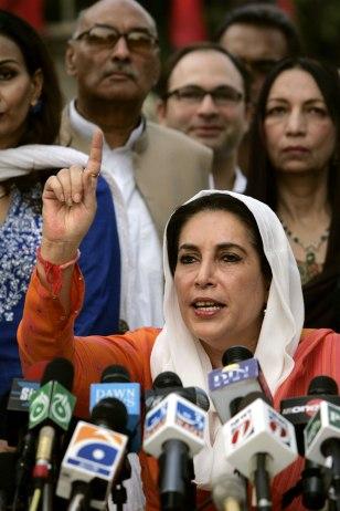 IMAGE: Benazir Bhutto