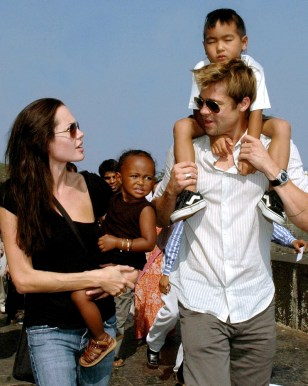 Image: Angelina Jolie and Brad Pitt