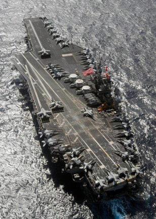 Image: USS Kitty Hawk