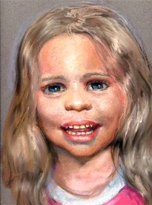 Image: Forensic artist's sketch of a child