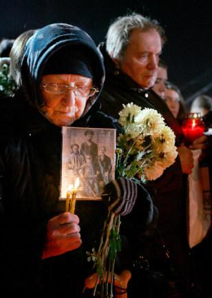 Image: Ukraine mourner