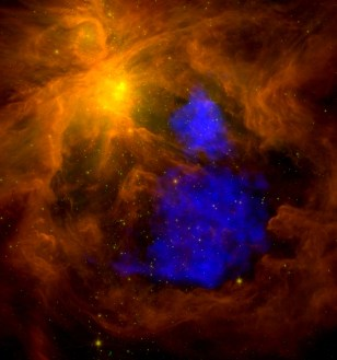 Image: A million-degree plasma cloud