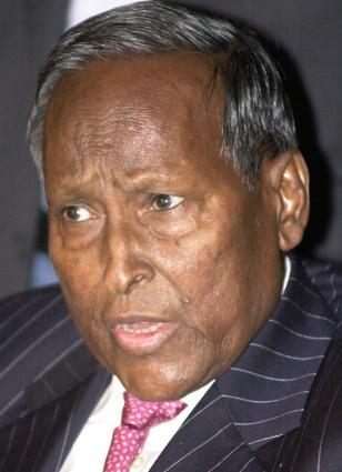 Image: Somalia's President Abdullahi Yusuf