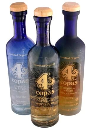 Image: 4 copas tequila