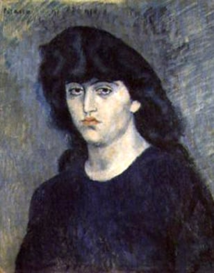 "Image: Pablo Picasso's ""Portrait of Suzanne Bloch"""