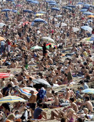 Image: Barceloneta beach