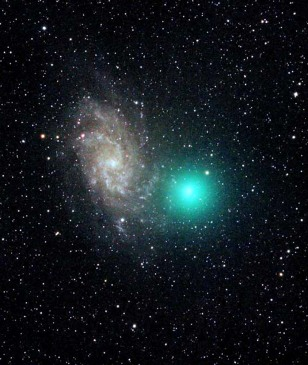 Image: Comet Tuttle and M33