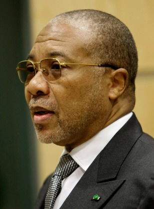 Image: Former Liberian President Charles Taylor