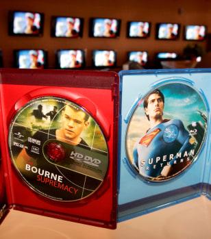Image: HD-DVD vs. Blu-Ray