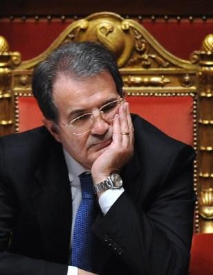 Image: Italian Prime Minister Romano Prodi