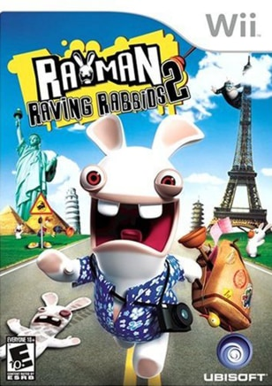 Image: Video game, Rayman Raving Rabbids 2