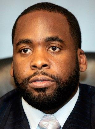 Image: Detroit's Mayor Kwame Kilpatrick.